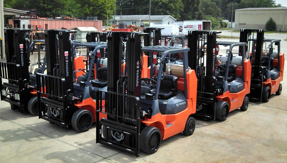 Toyota Danville Il >> Forklift Dealer Servicing Mattoon, IL - Bahrns ToyotaLift
