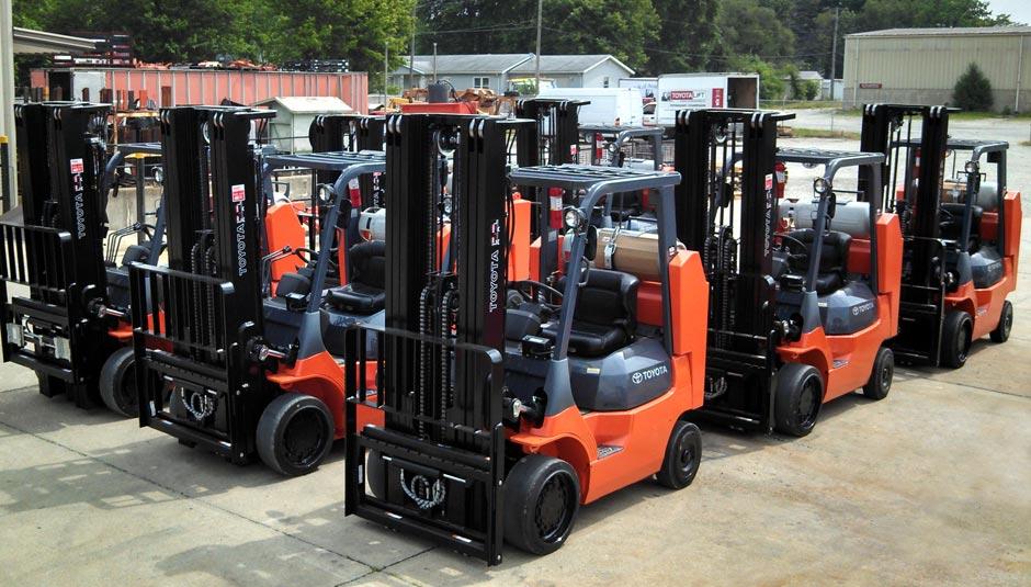 Toyota Danville Il >> Forklift Dealer Servicing Mattoon, IL - Bahrns Toyotalift