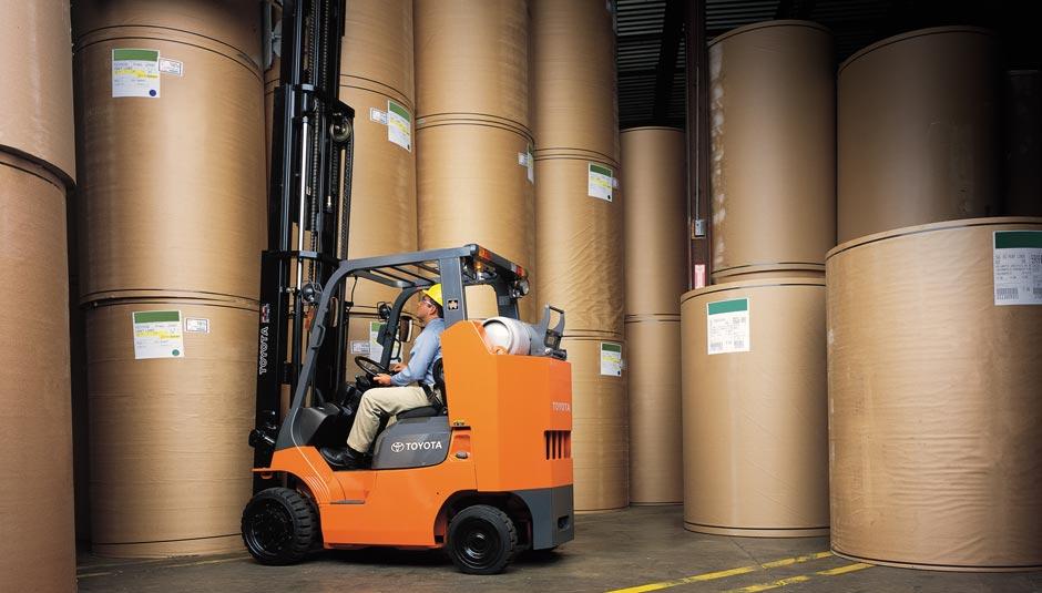 Toyota Forklift Illinois Dealership Bahrns Toyotalift Of