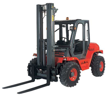 Rough Terrain Forklifts Bahrns Toyotalift Of Illinois