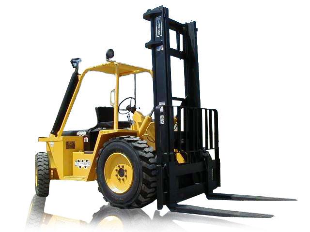 Rough Terrain Forklift Image 2